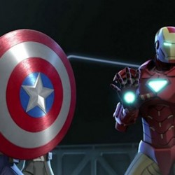 Marvel's IRON MAN AND CAPTAIN AMERICA: HEROES UNITED Available Now