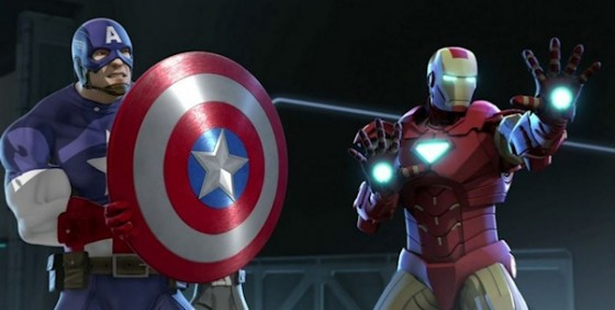 Iron Man and Captain America Heroes United wide
