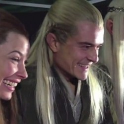 Video of the Day: Elves Watching Fans Watching the The Hobbit Teaser Trailer