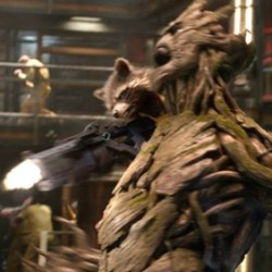 Meet GUARDIANS OF THE GALAXY Characters Groot and Rocket Raccoon in Two Featurettes