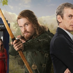 DOCTOR WHO Meets Robin Hood as Played by da Vinci, See the Pics and More