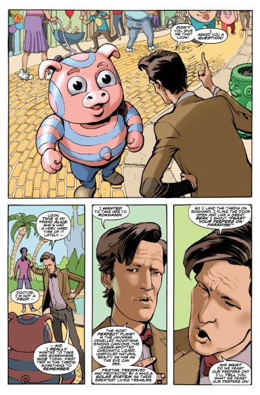 Doctor Who Comic Eleventh #2 strip 1