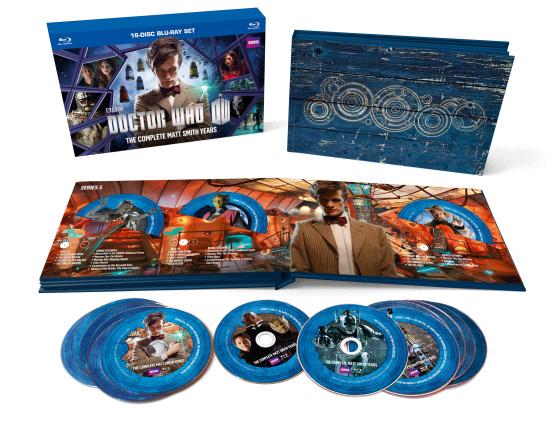 Doctor Who Matt Smith box set contents