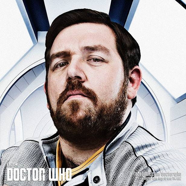 Doctor Who Nick Frost