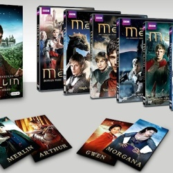 All the Details for MERLIN: THE COMPLETE SERIES Blu-ray and DVD Sets