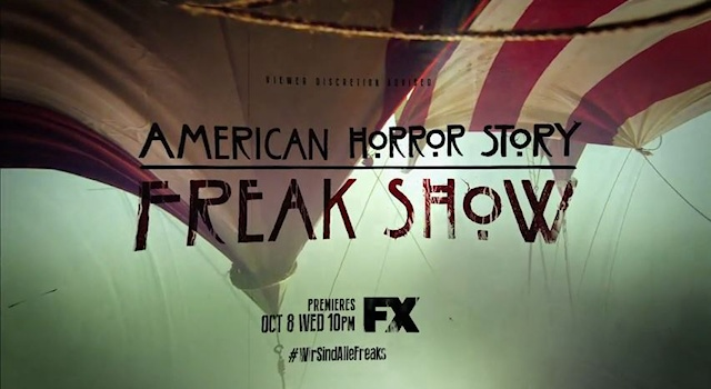 AHS Freak Show logo big top premiere date wide1