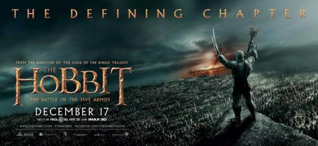 The Hobbit TBOTFA banner Agog