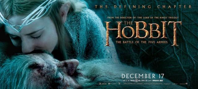The Hobbit TBOTFA banner Galadriel