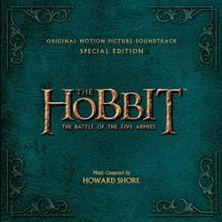 Get the Music Before the Movie When THE HOBBIT: THE BATTLE OF THE FIVE ARMIES ORIGINAL MOTION PICTURE SOUNDTRACK is Released