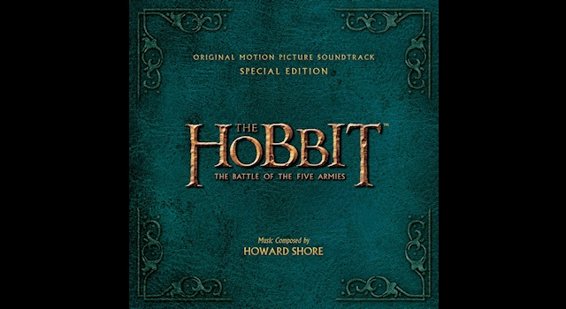 The Hobbit TBOTFA soundtrack special edition cover wide1