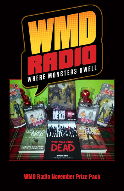WMD Radio Walking Dead Prize Pack