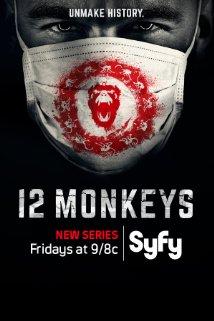 12 Monkeys poster vertical