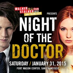 Matt Smith and Karen Gillan to Attend Walker Stalker Con and Night of the Doctor Event