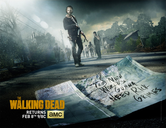 the walking dead s5b poster