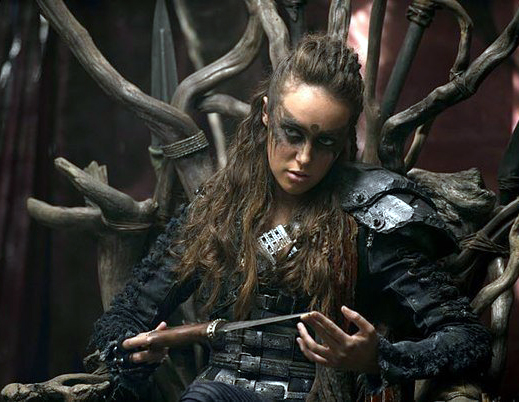The 100 Commander Lexa