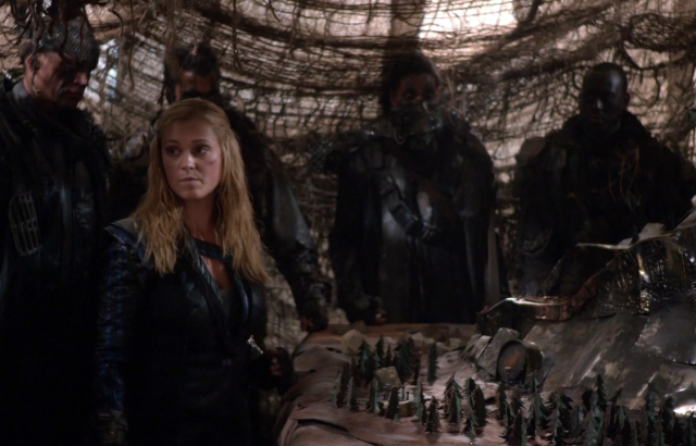 Clarke Griffin The 100 Season 2 grounders