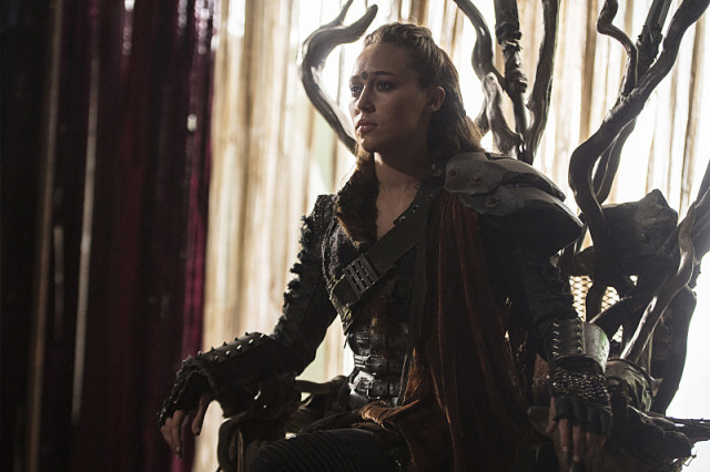 """The 100 -- """"Ye Who Enter Here"""" -- ImageHU303b_0186 -- Pictured: Alycia Debnam-Carey as Lexa -- Credit: Cate Cameron/The CW -- © 2016 The CW Network, LLC. All Rights Reserve"""
