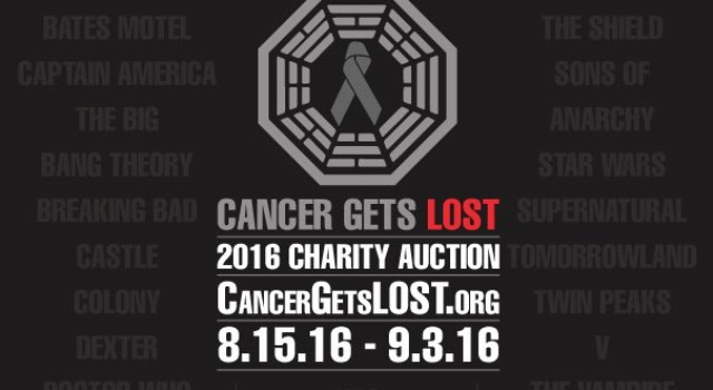 Cancer Gets LOST 2016: Autographed and Rare TV and Movie Collectibles are Waiting for Your Happy Hands